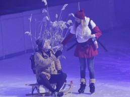 Schaats theater, voorstelling, schaats-show, kunstschaatsen, schaatsen