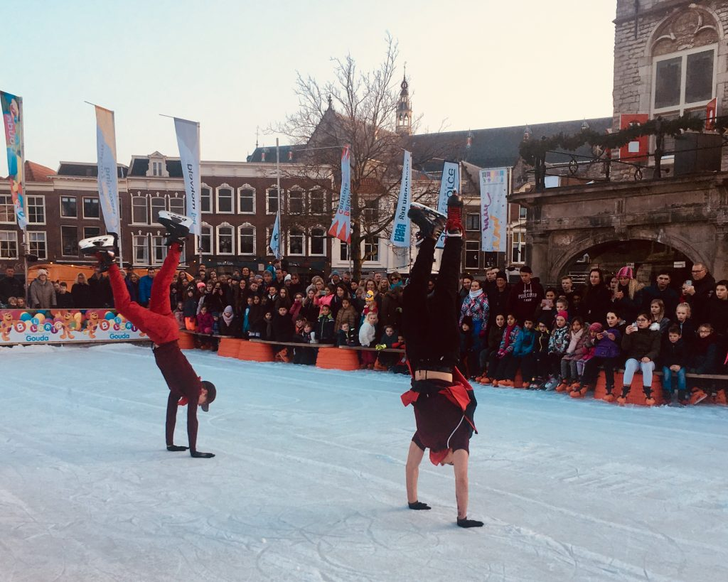100%NL Freestyle Ice Skating Battle!