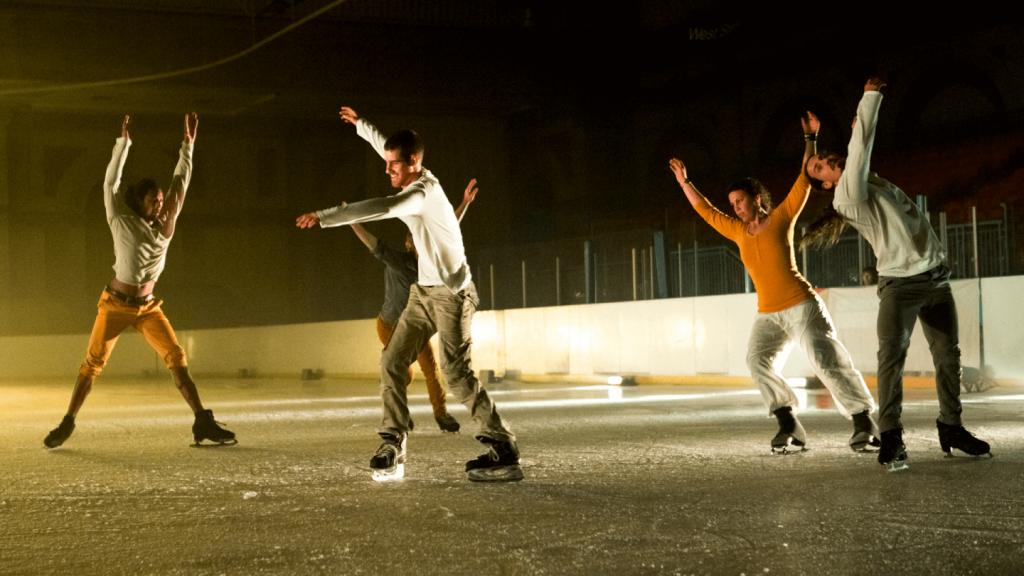 Schaatsen tijdens Holland Dance Festival Den Haag