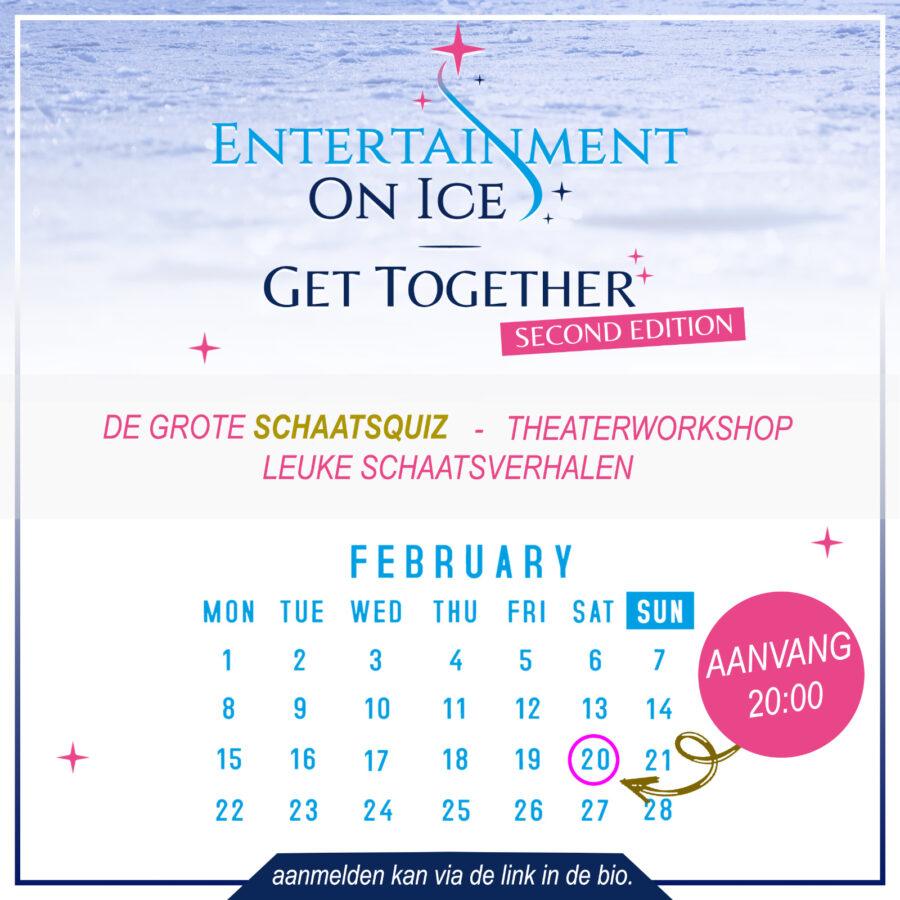 NIEUWS: Online Get Together 20 februari